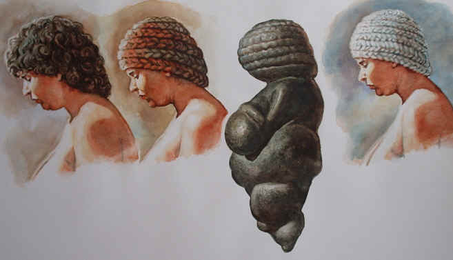 The Venus of Willendorf (a reconstructional transformation)